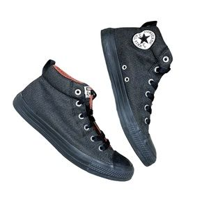 Converse All Star CTAS Street Mid Almost Black 9